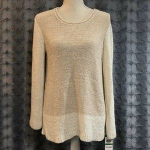 Style&Co Sweater Large Acrylic Blend Pullo…
